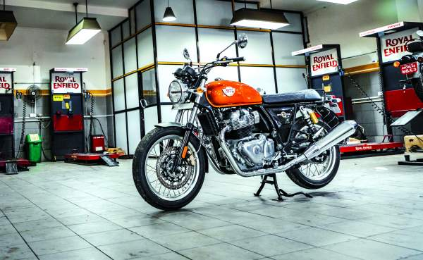 Sneak peek of Royal Enfield Interceptor 650