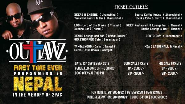 Outlawz Live in Nepal