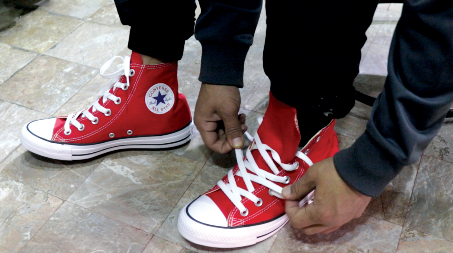 The enduring popularity of Converse shoes