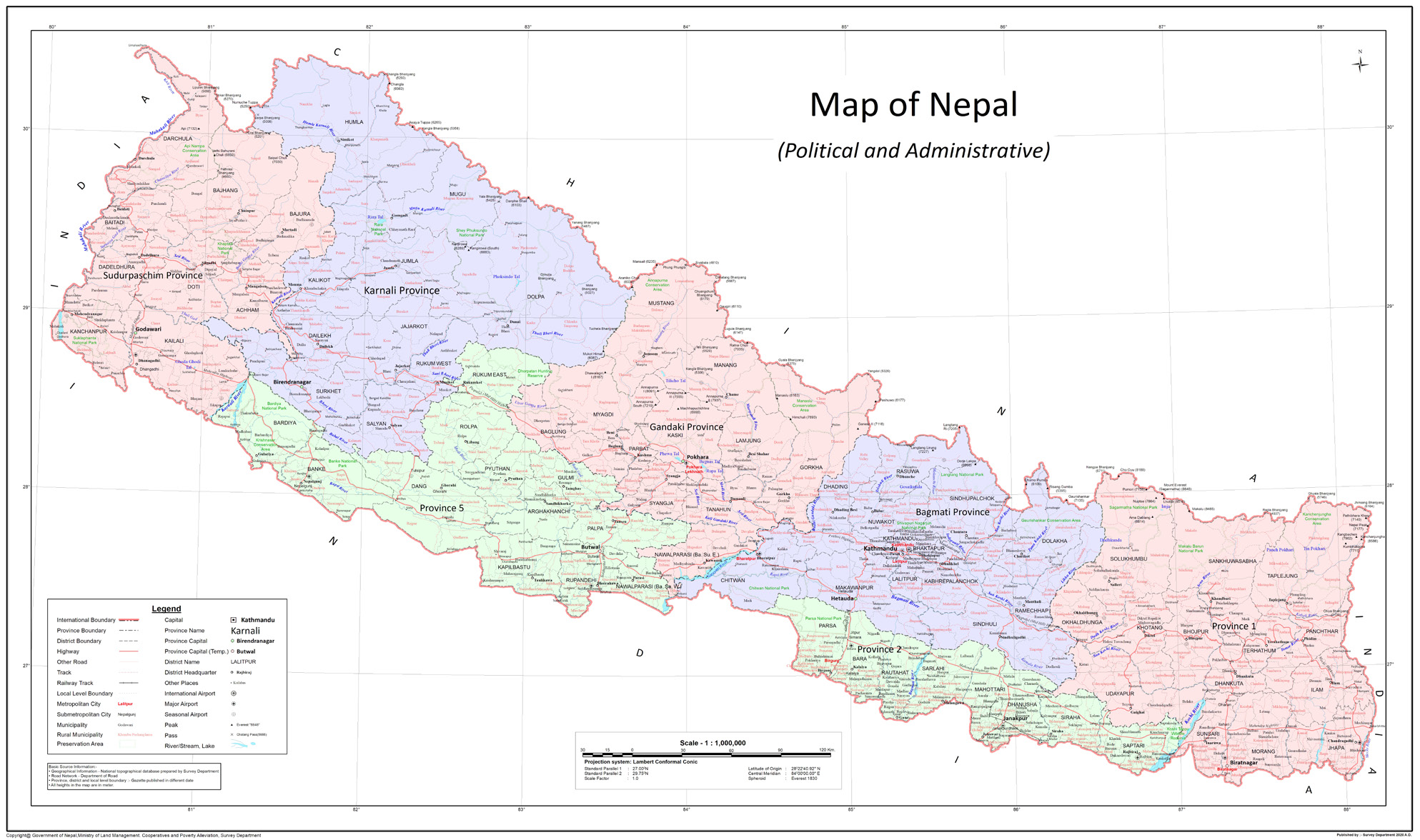 The evolution of Kalapani border dispute between Nepal and India