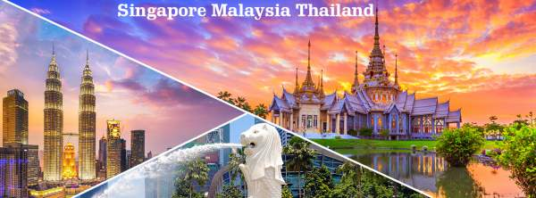 Package tour Singapore, Malaysia and Thailand